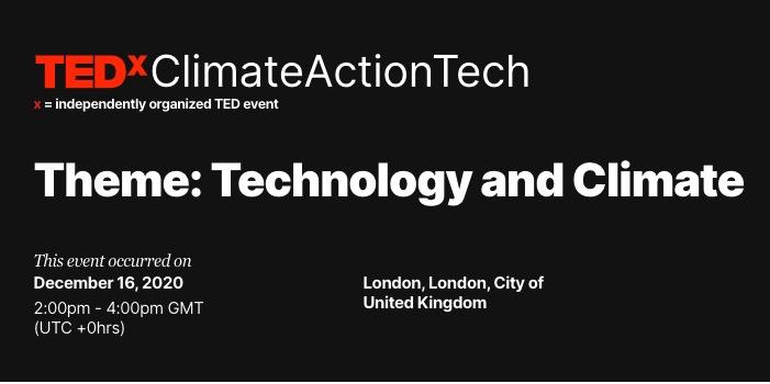 TEDxClimateActionTech